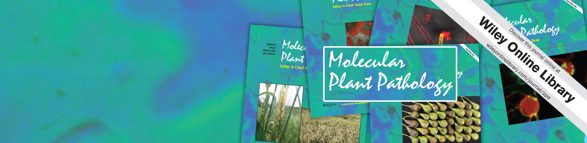 Molecular Plant Pathology – BSPP
